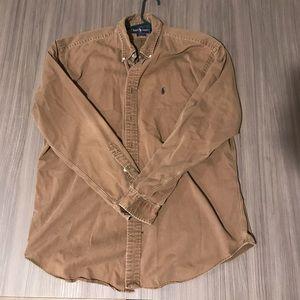 Ralph Lauren Button Down Shirt Men's XL